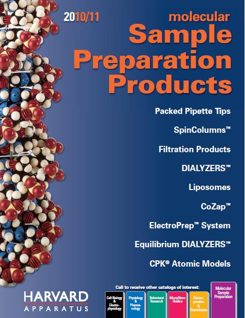 Harvard Apparatus - Sample Preparation products