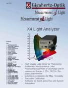 New Gigahertz-Optik Light Analyzer